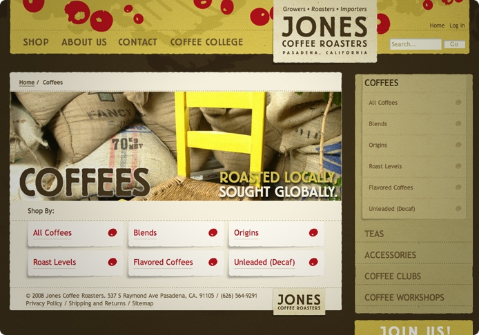 Jones Coffee Roasters