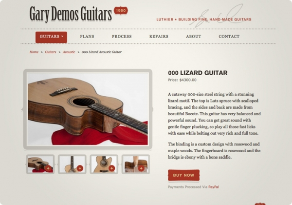Demos Guitars